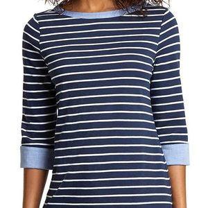 NWT Nautical sweater with the cutest sleeves ❤️